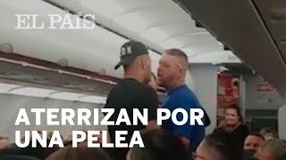 Escupitajos, golpes e insultos en un vuelo a TENERIFE