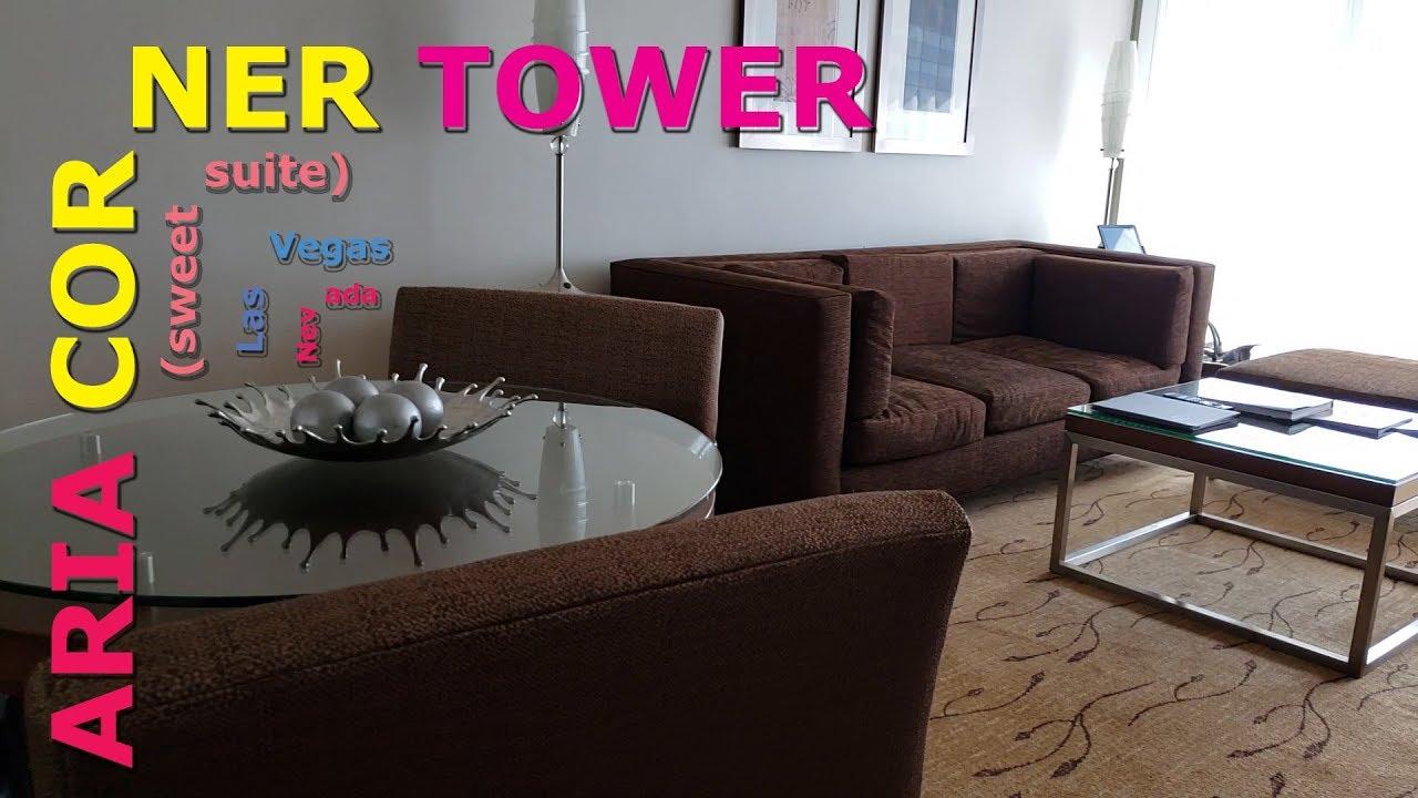 Aria Corner Tower Suite Vegas Baby Youtube