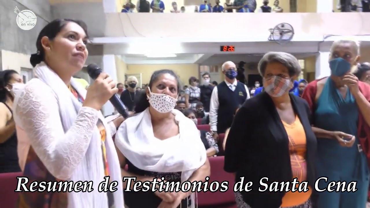 Resumen de testimonios / Santa Cena / 01-08-2020