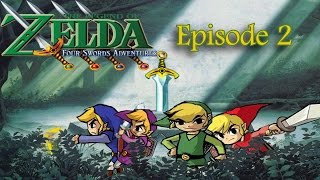 The Legend of Zelda : Four Sword Adventure | episode 2 [GC]