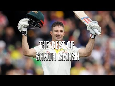 The best of Shaun Marsh in the Ashes 2017/18