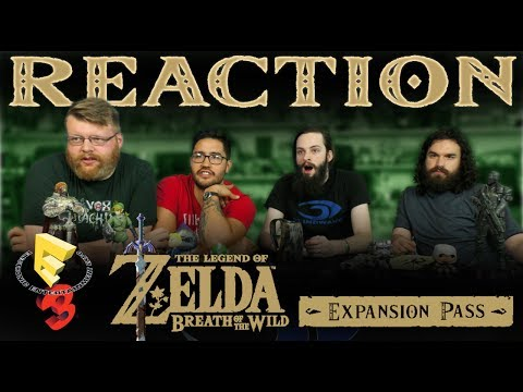The Legend of Zelda: Breath of the Wild - Expansion Pass Demo REACTION!! E3 2017