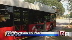 Sexual assault near NC State campus
