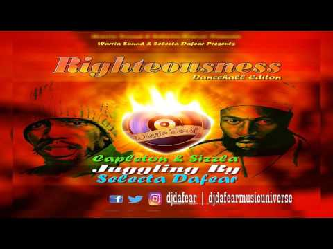 Dj Dafear Presents Righteousness Mixtape (Dancehall Edition) Special Capleton & Sizzla
