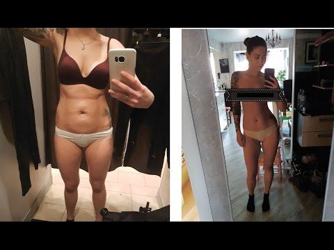 Результат похудения за месяц РЕАЛЬНО ПОХУДЕЛА / до после