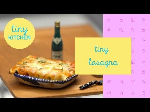 Tiny Lasagna | Tiny Kitchen