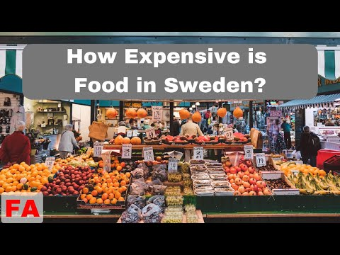 How Expensive is Food at a Swedish Grocery Store | Sweden Travel Tips