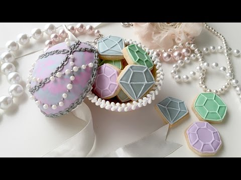 Mother's Day Jewelry Cookie Box