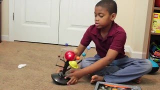 Toy First Impression:  Interactive Solar System