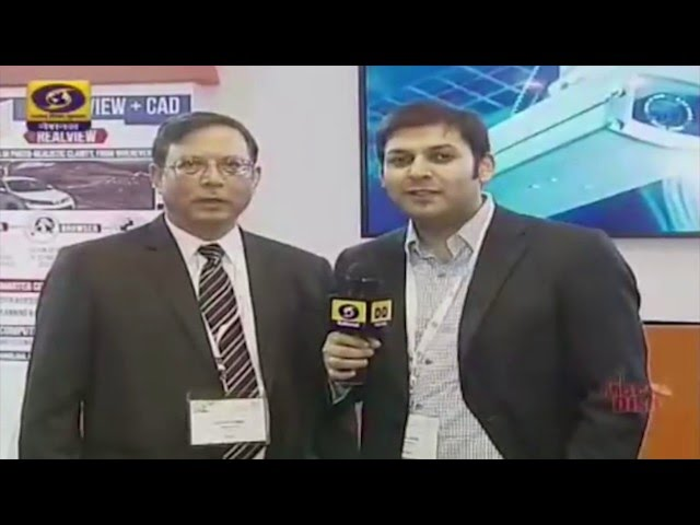 Rohan Verma talks to DD about MapmyIndia for Smarter Cities - YouTube