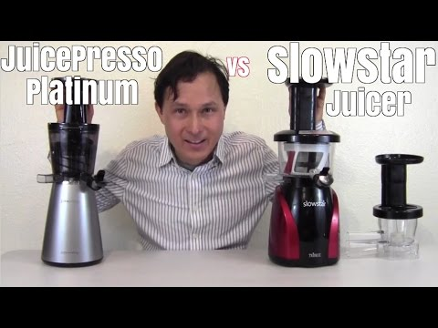 JuicePresso Platinum vs Slowstar Juicer Review Comparison