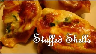 Chicken And Spanich Stuffed Shells [what I Had For Dinner]