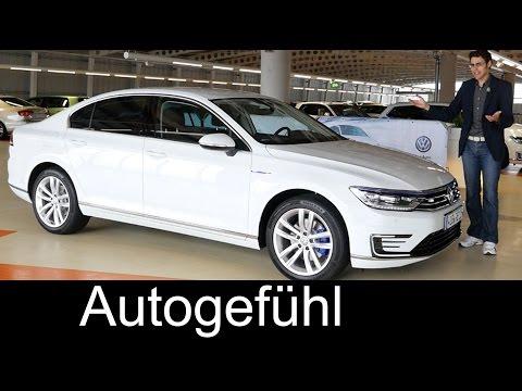 New VW Volkswagen Passat GTE FULL REVIEW test driven Plugin-Hybrid 2016
