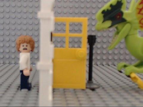 LLP - LEGO Jurassic World Pizza Delivery Attack Trailer🎬