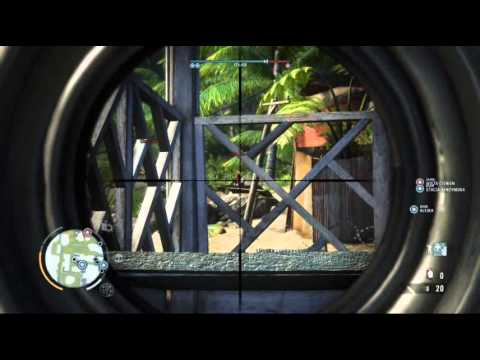 Far Cry 3 Multiplayer Gameplay Sniper Domination