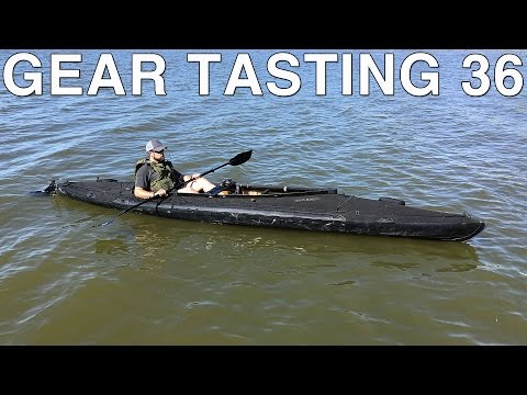Gear Tasting 36: Klepper Folding Kayak and Maritime Gear Loadout