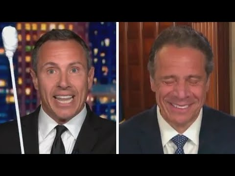 Andrew Cuomo Can't Contain His LAUGHTER as Brother Chris MOCKS His Coronavirus Test (Exclusive)