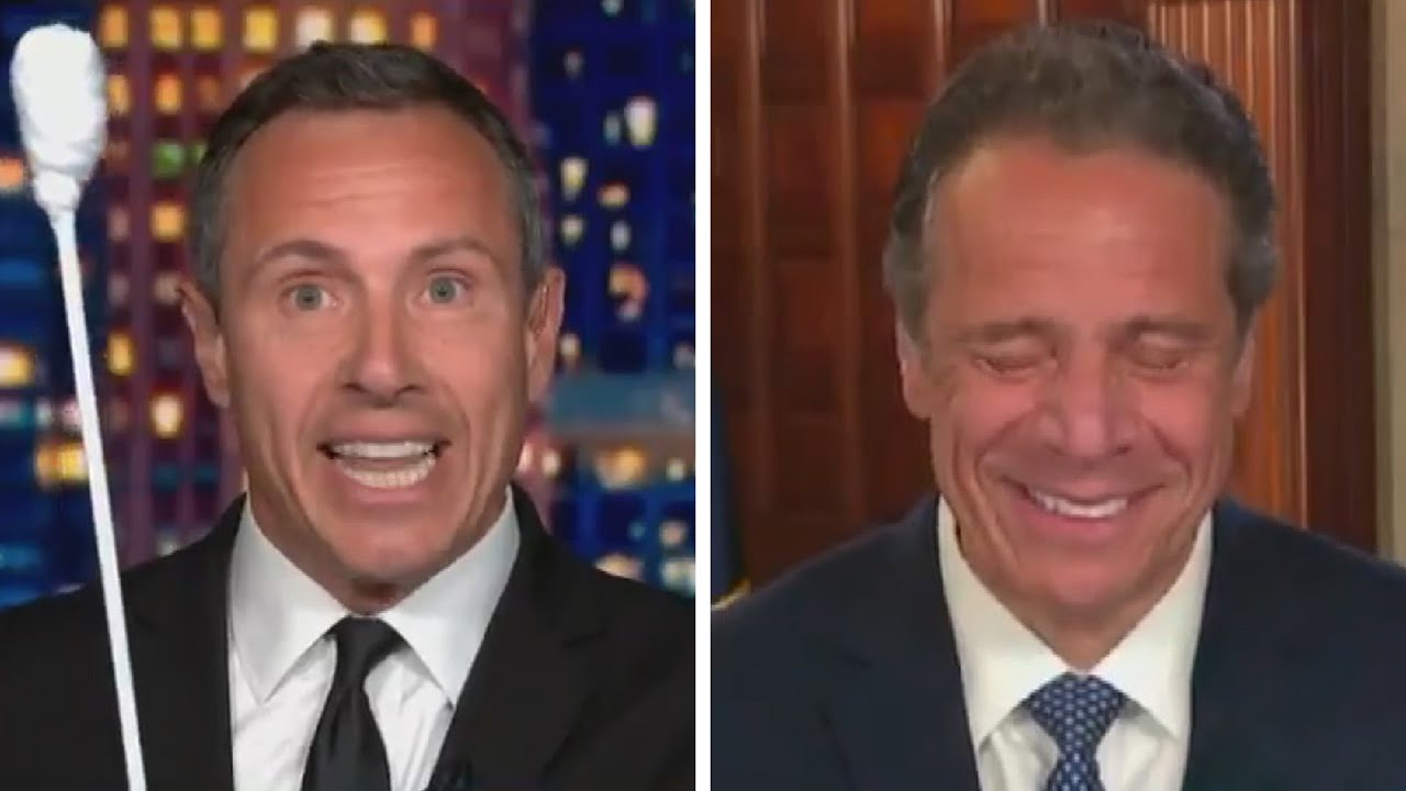 Andrew Cuomo Can T Contain His Laughter As Brother Chris Mocks His Coronavirus Test Exclusive Youtube