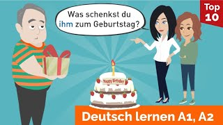 Learn German through Dialogue / Lesson 30 / Verbs and prepositions with dative / Personal pronouns