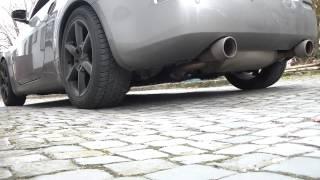 Invidia Q300 Abgasanlage Nissan 350z oder 370z SOUND