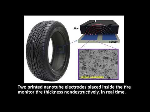 Carbon Nanotube Tire Wear Sensor