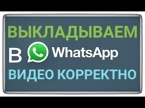 Как добавить видео в whatsapp
