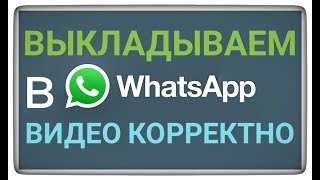 Видео в Статусе Ватсап WhatsApp Video status shering