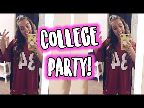 GET READY WITH ME FOR A COLLEGE PARTY! PHI SLAM AT UGA