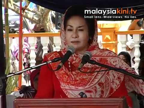 Rosmah: I don't look like a liar, do I?