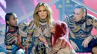 Jennifer Lopez Enciende los 2015 AMAs Con Baile Épico !