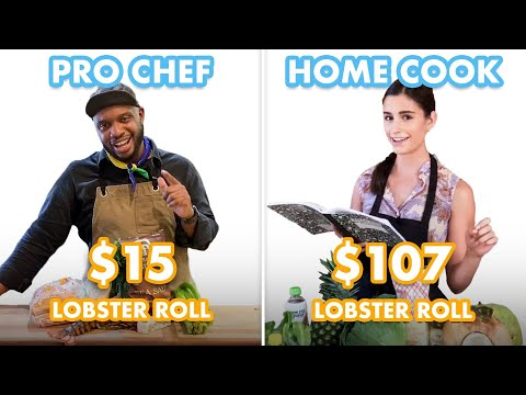 $107 vs $15 Lobster Roll: Pro Chef & Home Cook Swap Ingredients | Epicurious