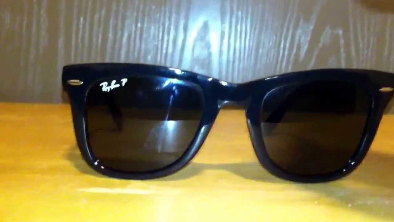 93b813ebfd4 Ray Ban Folding Wayfarers RB 4105 Review - YouTube