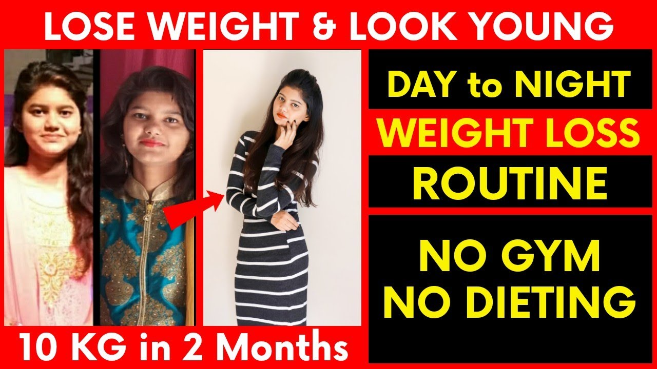 Weight Loss at Home without GYM   How to Lose Weight Fast   My Weight Loss Daily Routine  