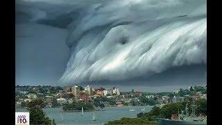ماذا سيحدث إذا إجتاحت أمواج البحر العالم شاهد المفاجأة سبحان الله ..!!