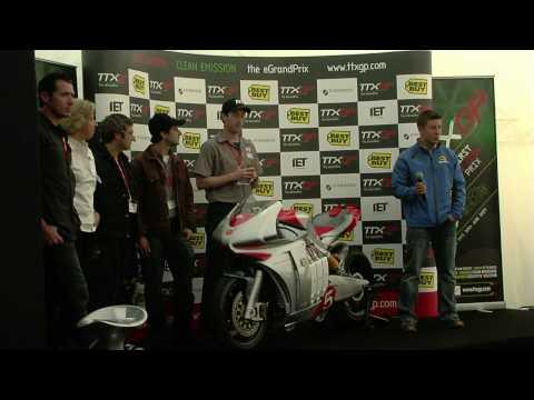 Motoczysz E1pc Electric MotorcycleTTXGP Isle of Man