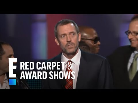 PCA 2010: Hugh Laurie& House cast accept awards for ...