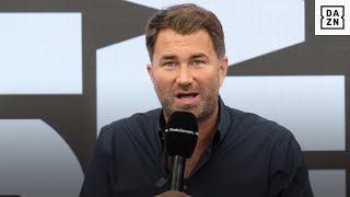 Eddie Hearn Gives Update On Conor Benn, Talks Next Steps For Fight Camp