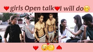Which part you kissed?💘❤️  Open Talk  Chennai Girls on Six Packs ❤️💘 Puthu Aayudham
