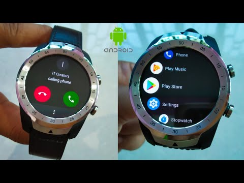 TicWatch Pro Android Smart Watch | Google Play Store | CALL, GPS, GAMES, APPS, FITNESS BAND