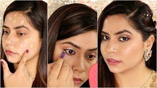 मेकप कैसे करे जब पहली बार लड़के वाले देखने अाये | How To Do Makeup Step By Step For Beginners #2