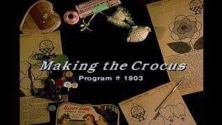 """Making the Crocus"" Grandmothers Flower Garden"