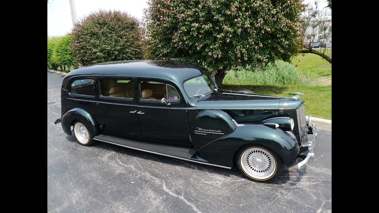 1940 Packard 180 Touring Custom Resto Mod ***FOR SALE*** - YouTube