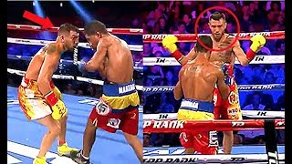 Vasyl Lomachenko Humiliates His Opponents Before Knocking Them out
