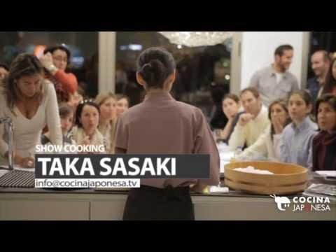 Sushi Show Cooking en Valencia / Cocina Japonesa / Taka Sasaki