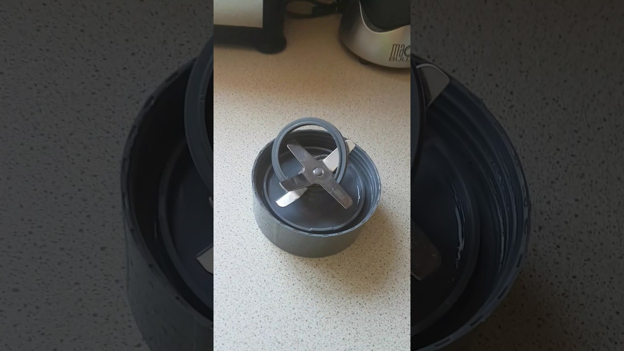 replace and clean nutribullet magic bullet gasket seal washer
