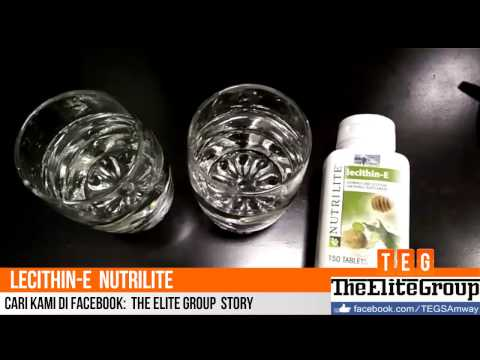 Demo Supplement Kesihatan lecithin-E Nutrilite  (Bahasa Malaysia)
