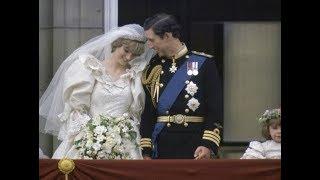 Плохие знаки на свадьбе леди Ди и принца Чарльза