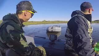 GoPro клип рыбалка Касимовский район ока река