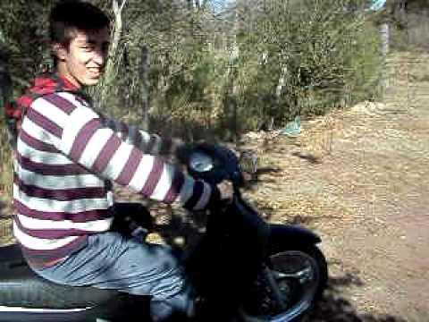 mauricio blas en moto