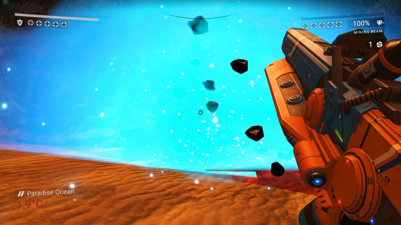 No Man's Sky | Solid height map & water height map